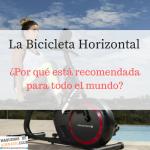 La bicicleta horizontal