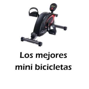 Los mejores mini bicicletas estáticas